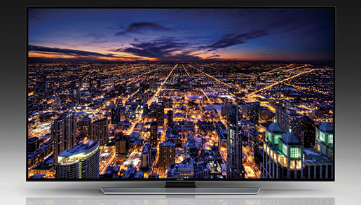 Samsung's ultra-HD TV