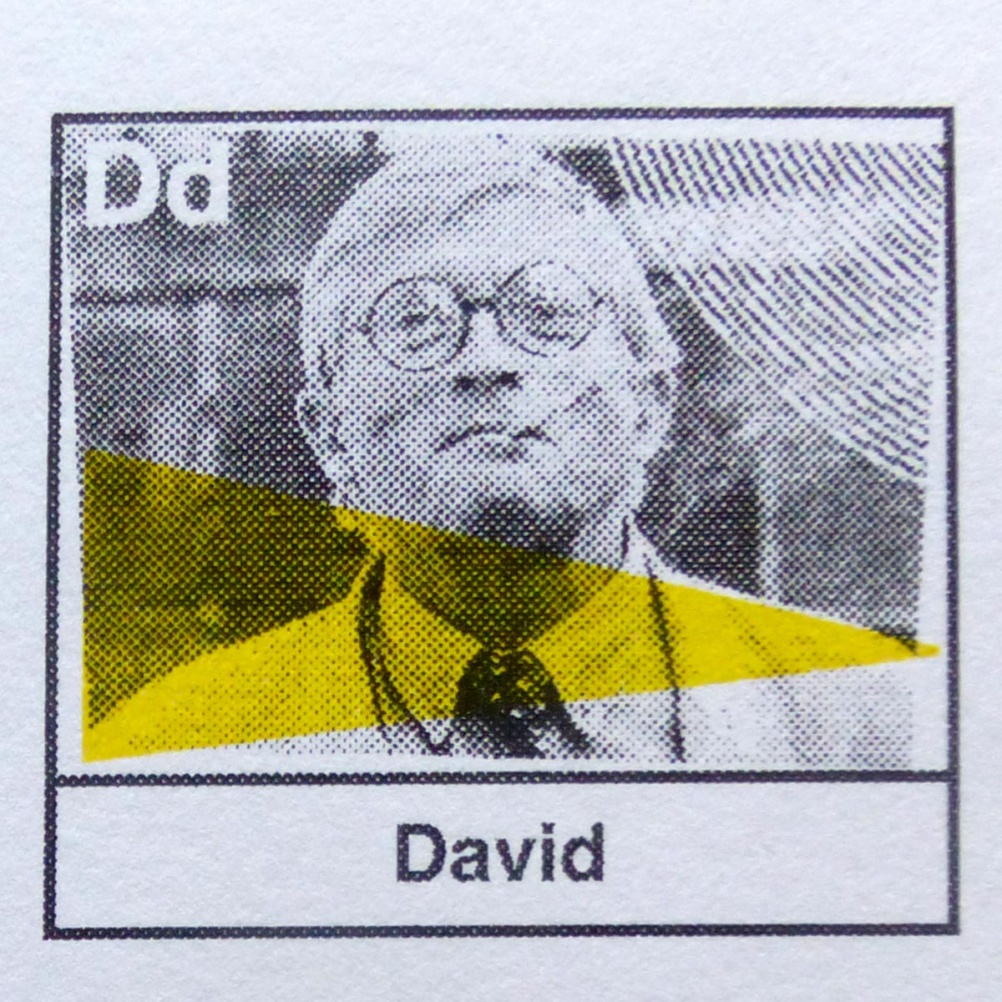 d is for David Hockney