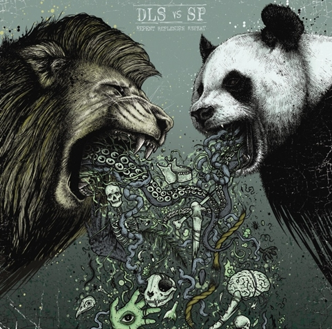 Dan le Sac Vs Scroobius Pip - Repent Replenish Repeat - Design by Paul Jackson