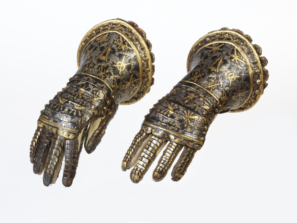 Steel gauntlets, ca. 1614, Spain