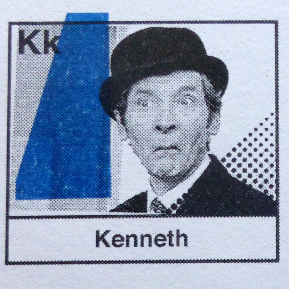 k is for Kenneth Williams
