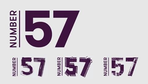 Number 75 branding