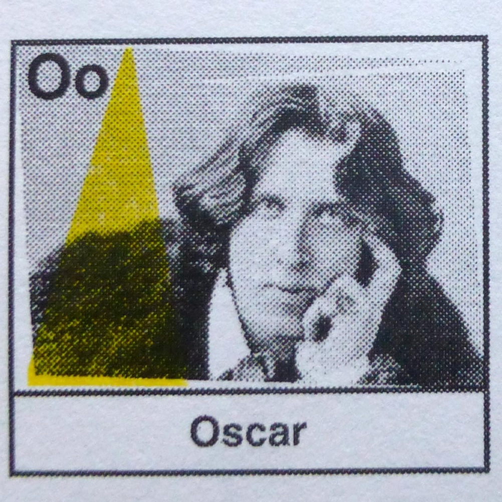 o is for Oscar Wilde