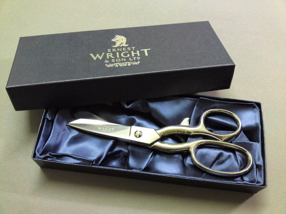 Ernest Wright and Son is a family owned company which has been making scissors and shears in Sheffield since 1902, and offers lifetime guarantees on its products