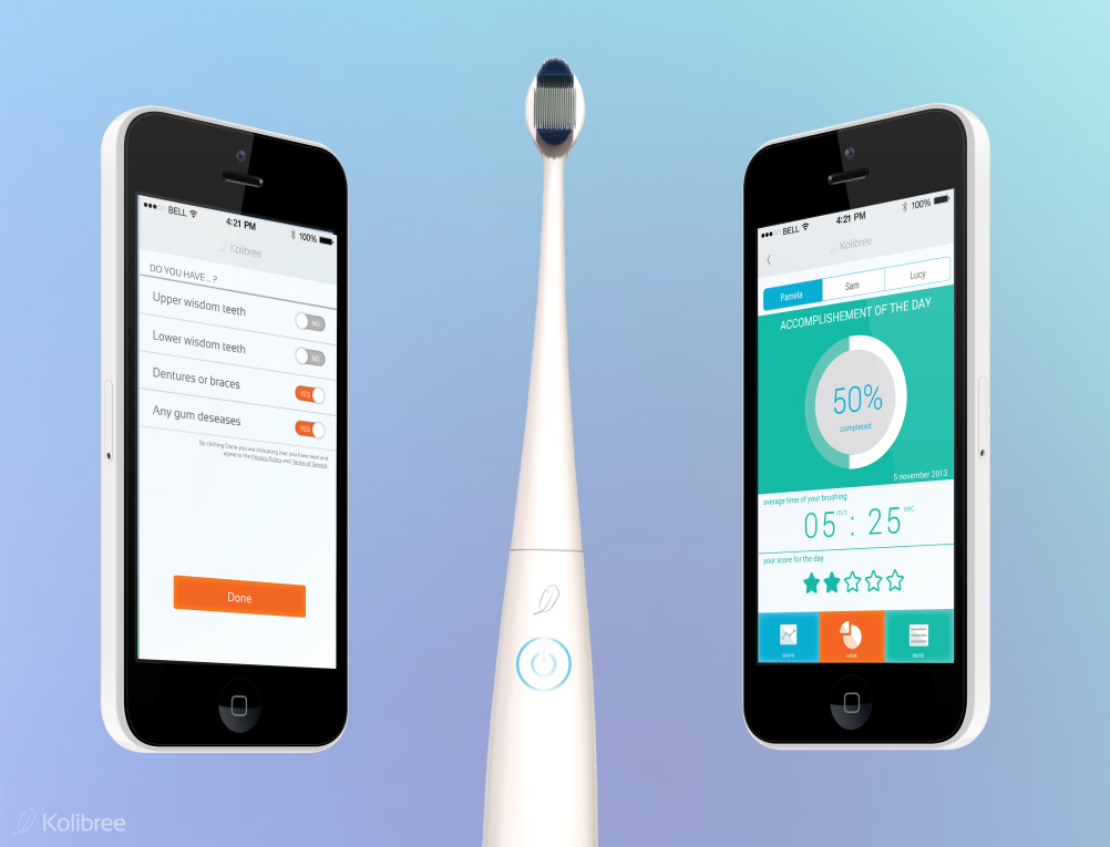 Kolibree - 'the world's first internet-connected toothbrush'
