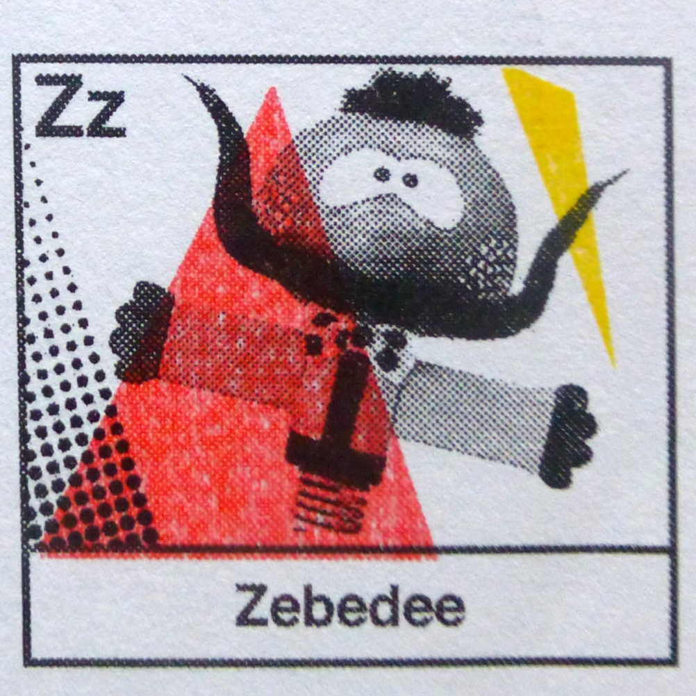 z is for Zebedee.