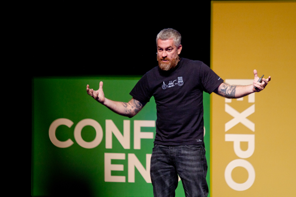 Chef Alex Atala, who spoke at Design Indaba 2013