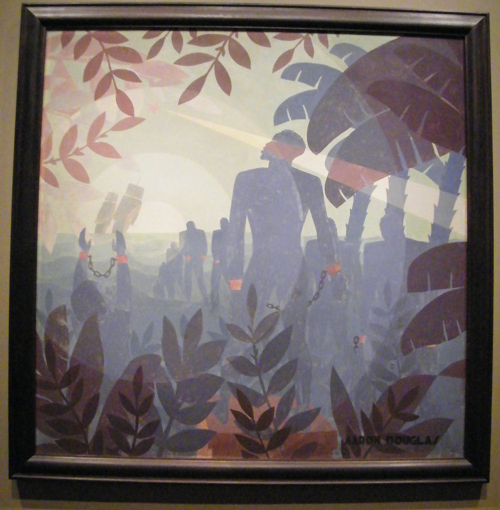 Into Bondage (1944) by Aaron Douglas, at the Corcoran Gallery of Art, Washington