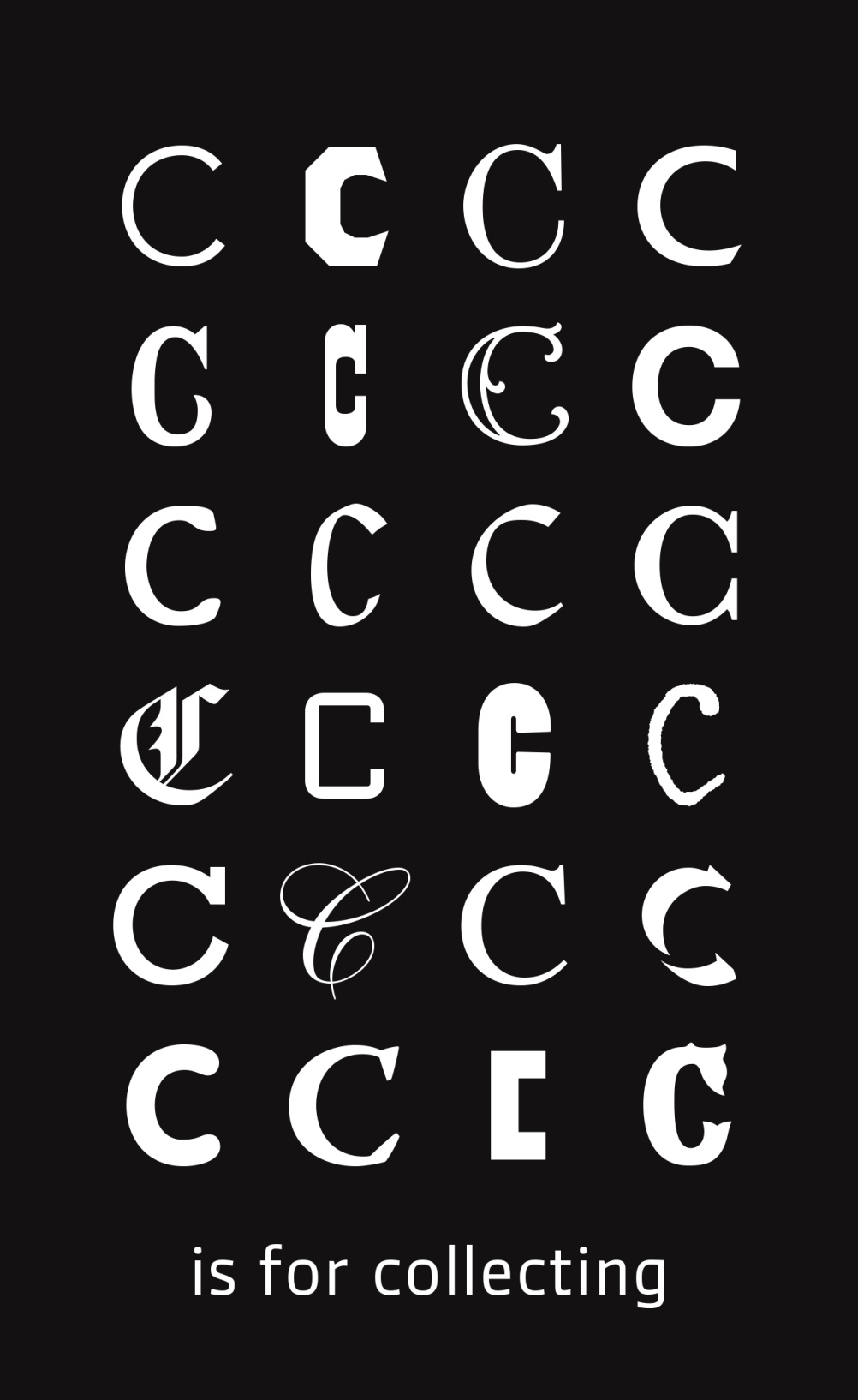 C is for Collecting