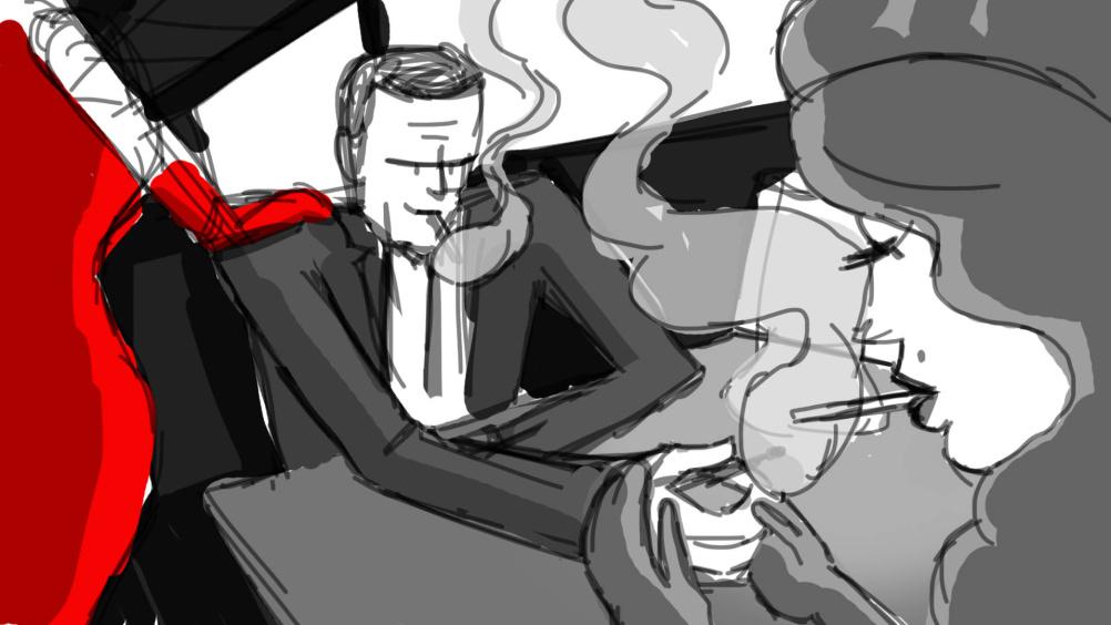 Character development sketch