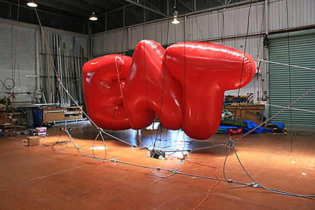 Creating the inflatable signage