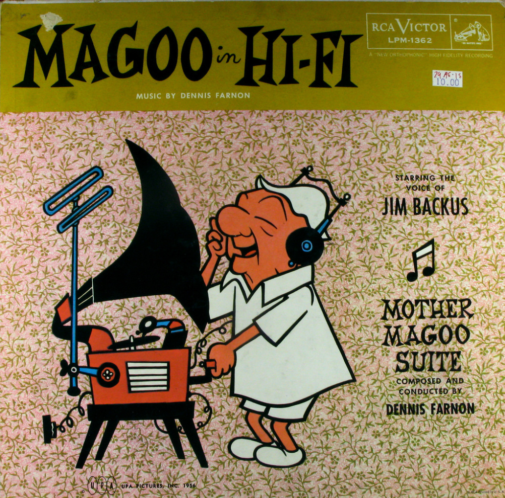 Mr Magoo. The Mr Magoo animated series was directed by Frank Braxton