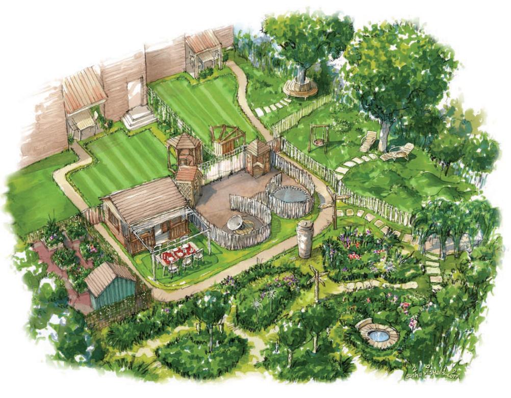 Sensory Garden concept
