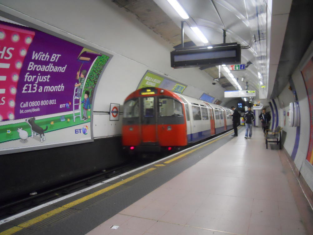 Piccadilly Line Tube train
