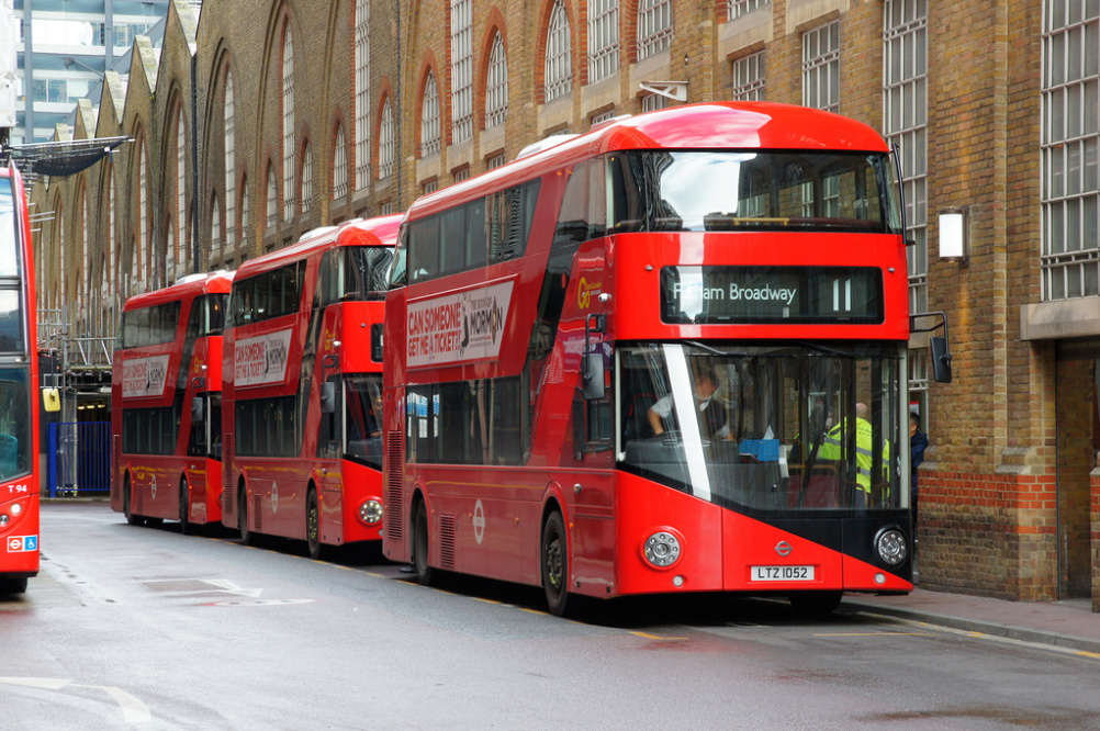 The Thomas Heatherwick-designed New Bus for London