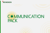 Heineken communication pack identity