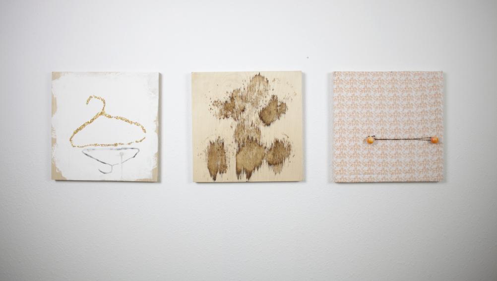 Tameka Norris, Lexicon excerpt, triptych, 2013
