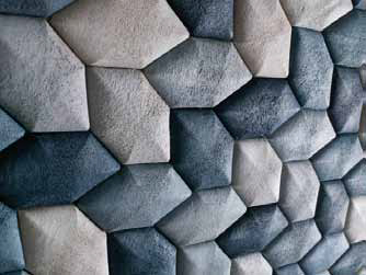 Luffa Acoustic Tiles by Mauricio Affonso