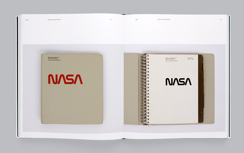 NASA 'worm' identity by Danne & Blackburn