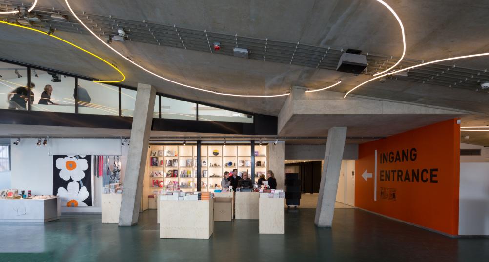 New reception area Kunsthal Rotterdam