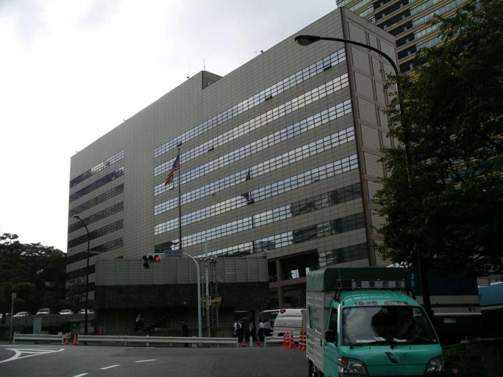 US Embassy in Tokyo (1976), designed by Norma Merrick Sklarek