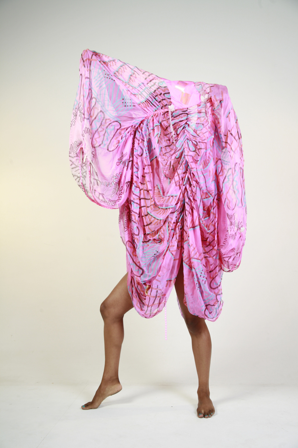Tameka Norris, A Portrait about Identity, digital print, 2008