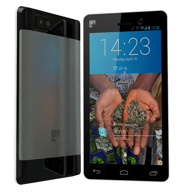 The Fairphone, designed by Bas van Able