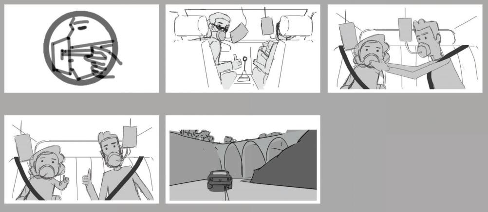 Storyboard development