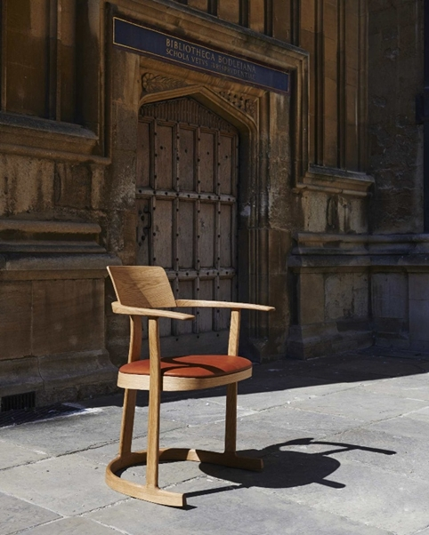 The Bodleian Library Chair, designed by Barber Osgerby