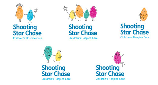 Some of the multiple Shooting Star Chase logos