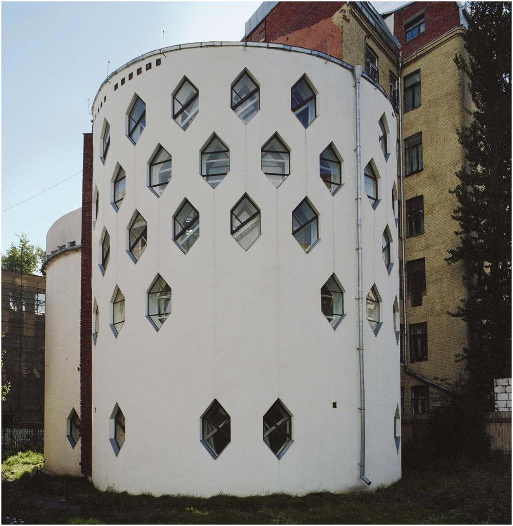 Melnikov house 1927-31, Moscow, Russia