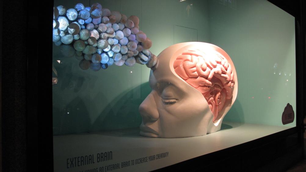 External Brain by Agatha Haines