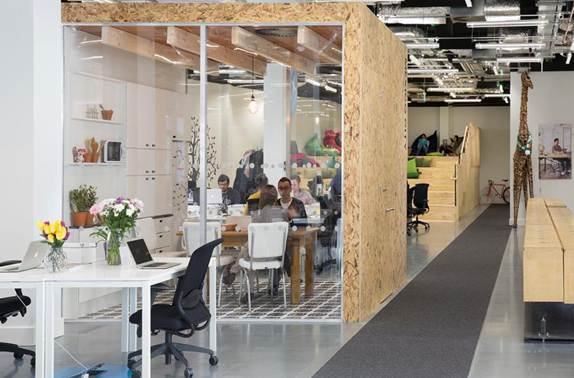 Airbnb Dublin office, designed by Heneghan Peng