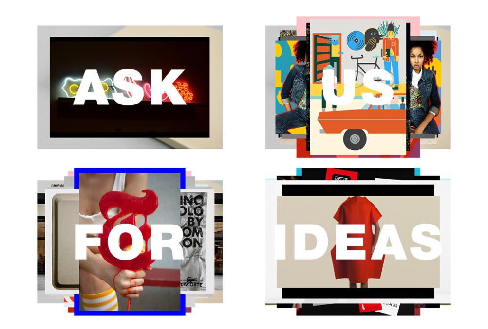 Ask Us For Ideas site