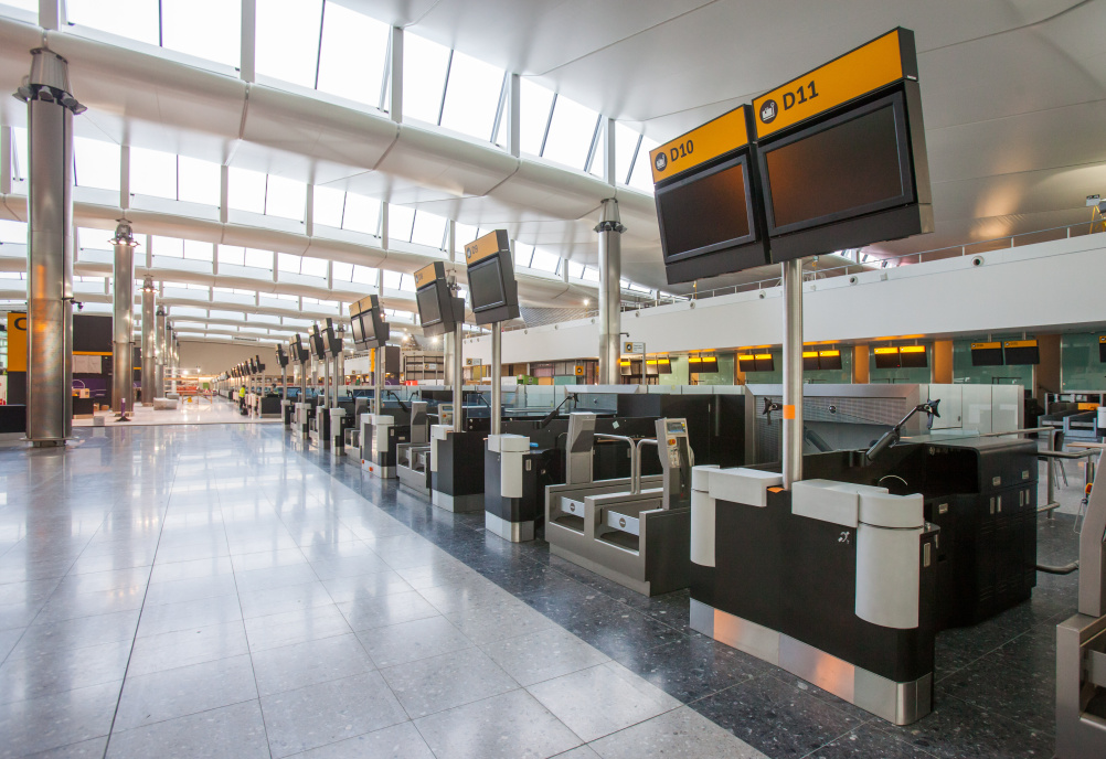 New designs for Heathrow Terminal 2