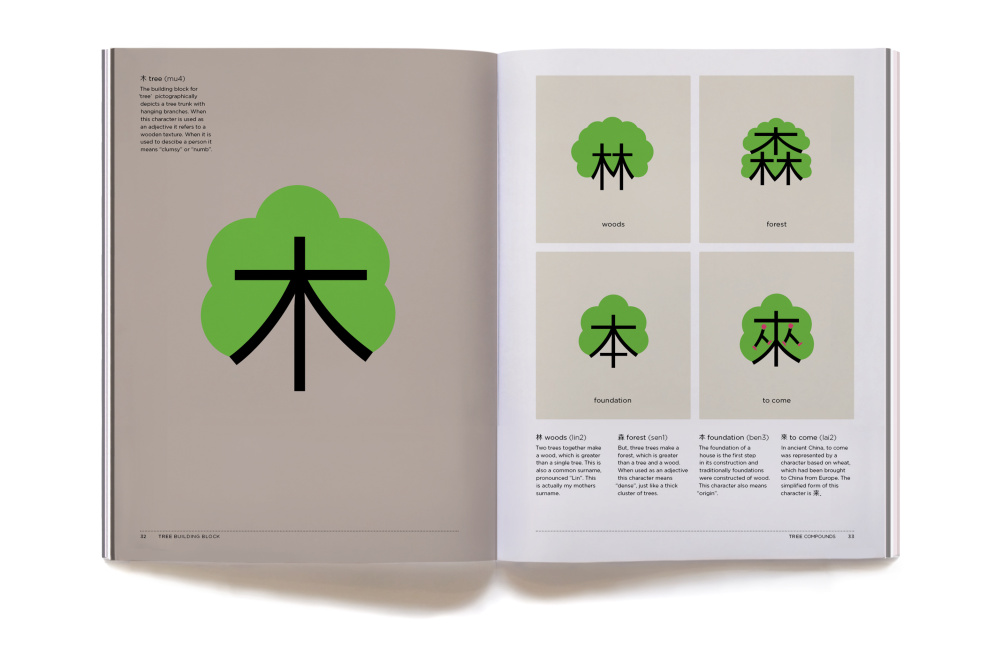 Chineasy - Created by ShaoLan Hsueh with Illustrations by Noma Bar.