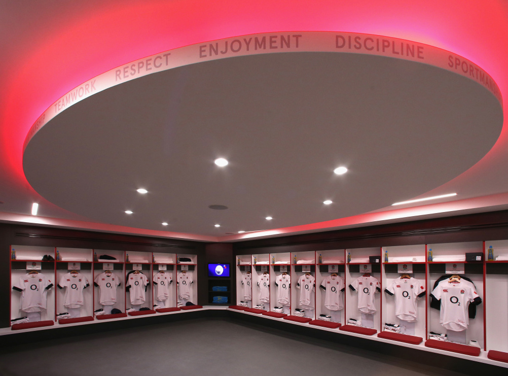 The changing room