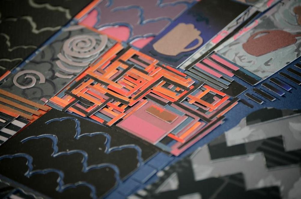 Charlotte Hodes papercut