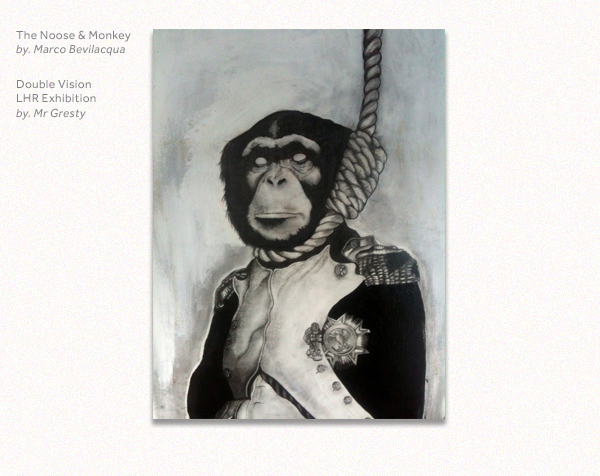 The Noose and Monkey by Marco Bevilacqua