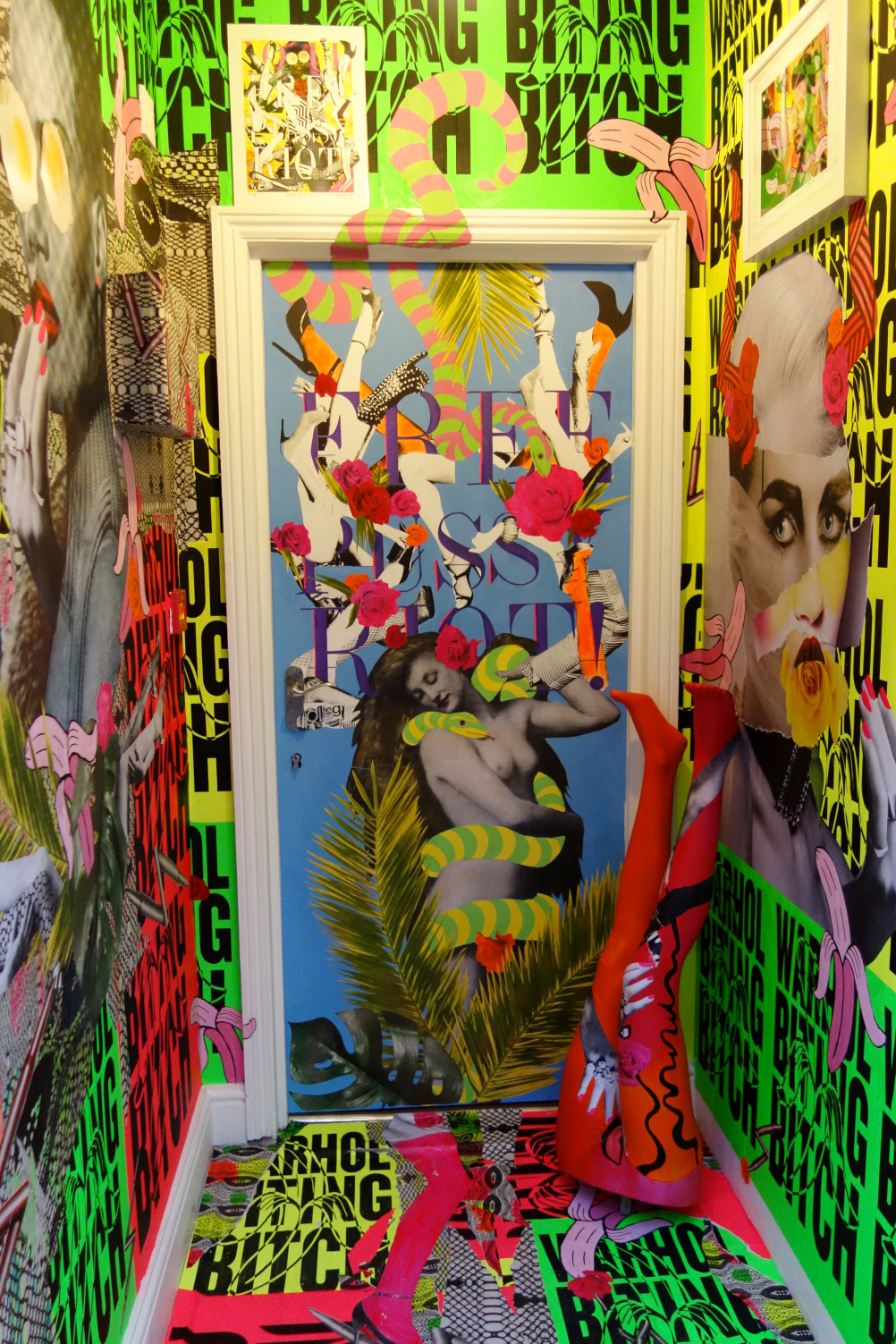 A Hysteria installation