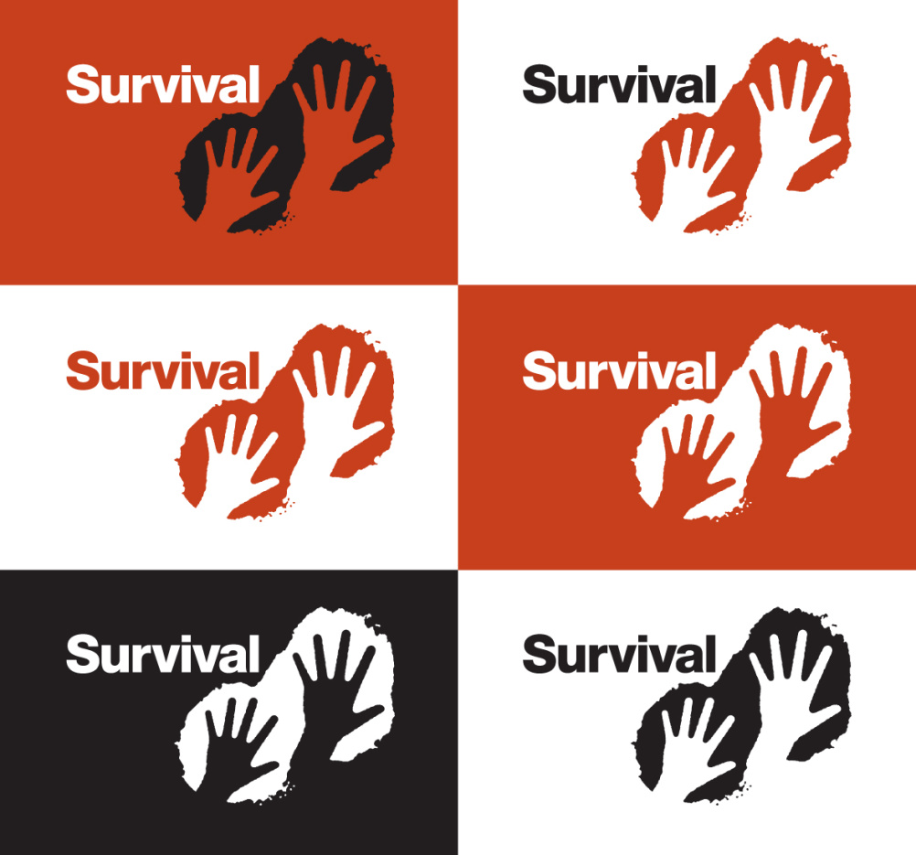 Survival logo colourways