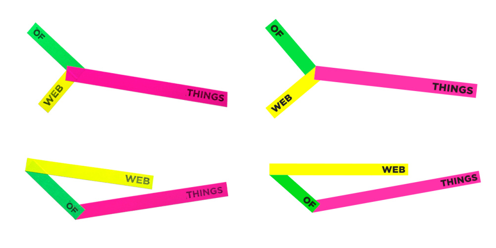 Web of Things logo variations