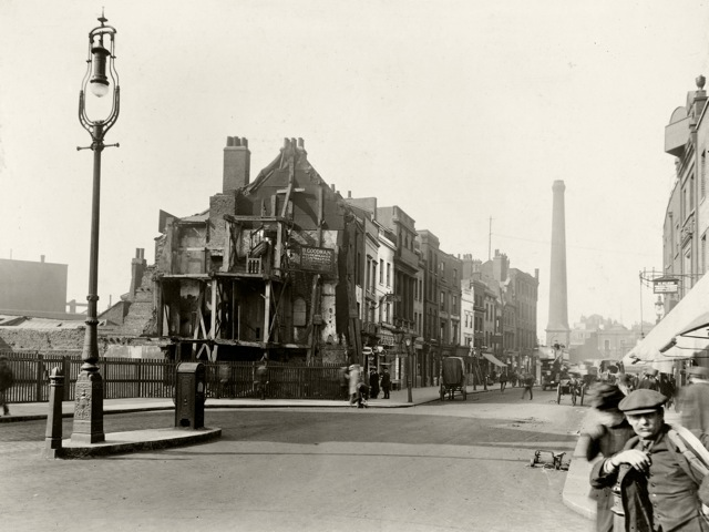 Norton Folgate, towards Shoreditch.