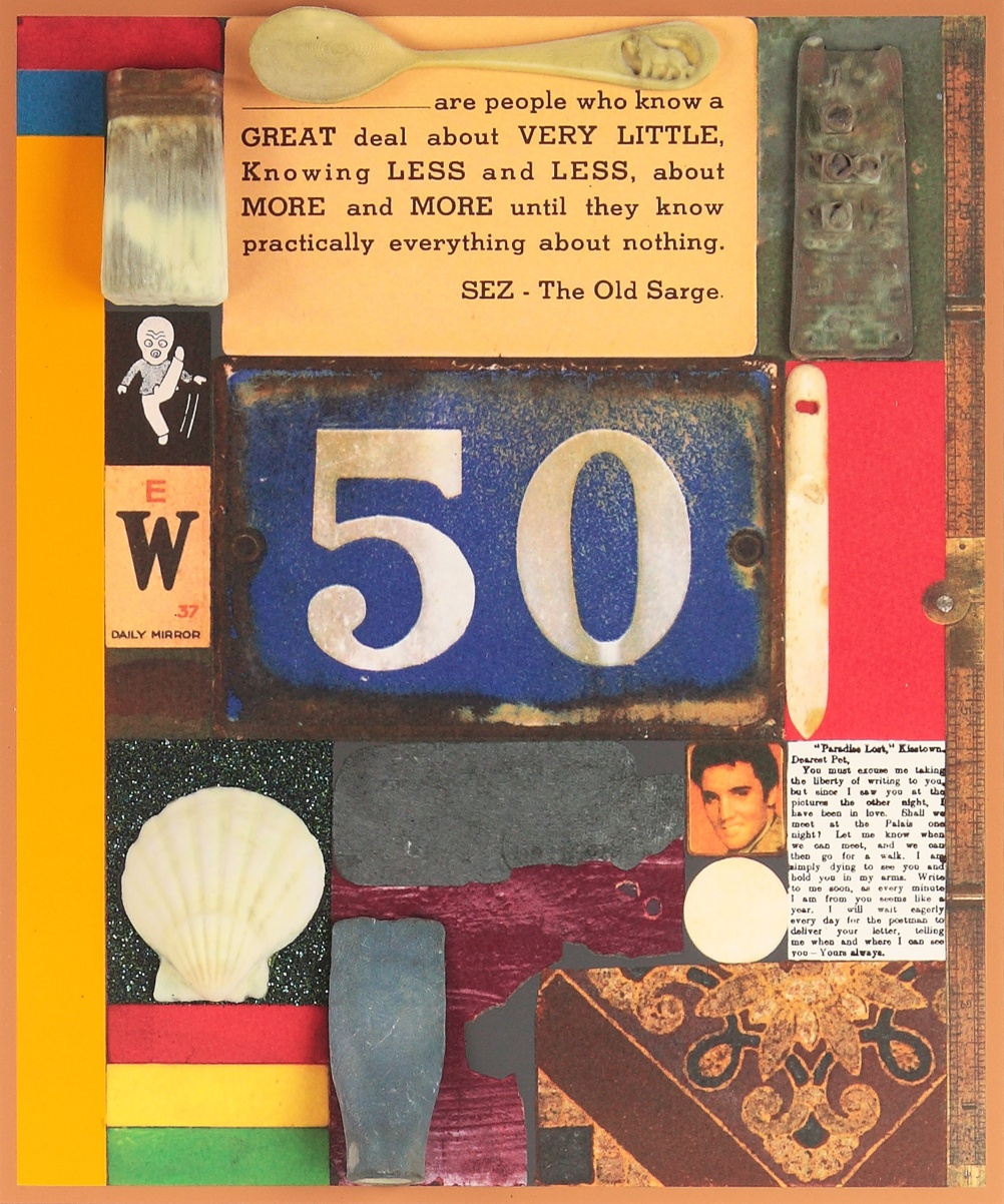 Peter Blake, 3D Wooden Puzzle Series: 50 (2014)