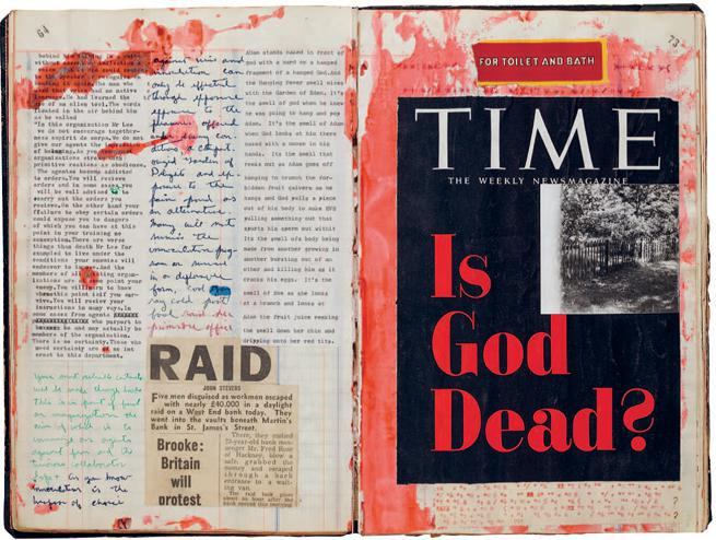 William S. Burroughs and Brion Gysin, Untitled (scrapbook 3)