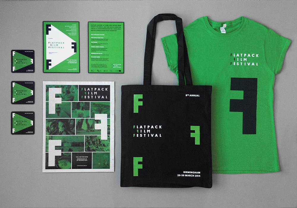 Flatpack Film Festival merchandise