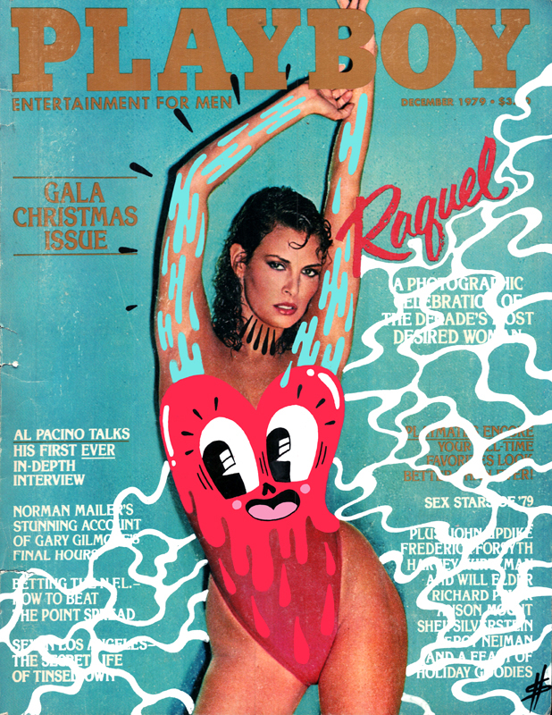 Playboy, starring Raquel Welch