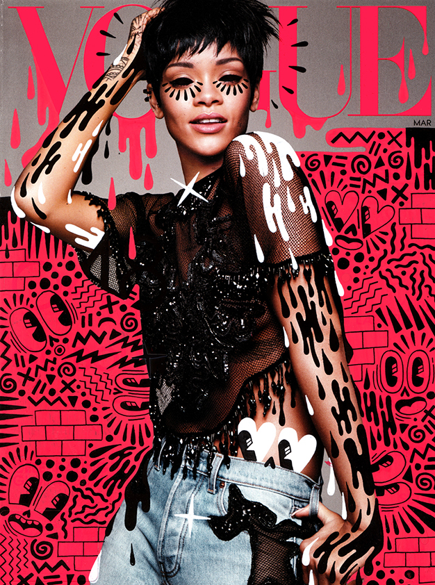 Rihanna on Vogue