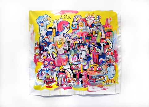 Jon Burgerman's work