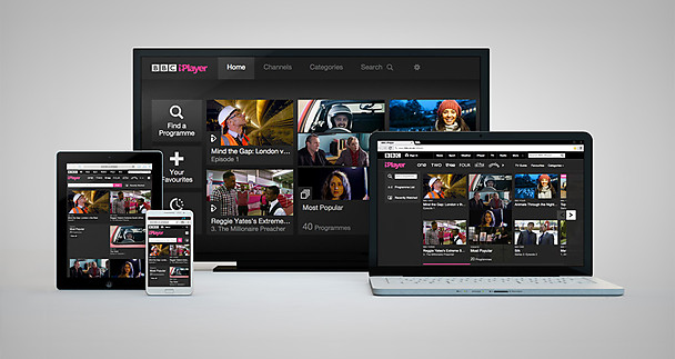 The new iPlayer design across multiple devices